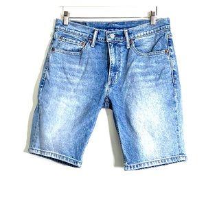LEVI'S • 511 Bermuda Jean Denim Blue Shorts
